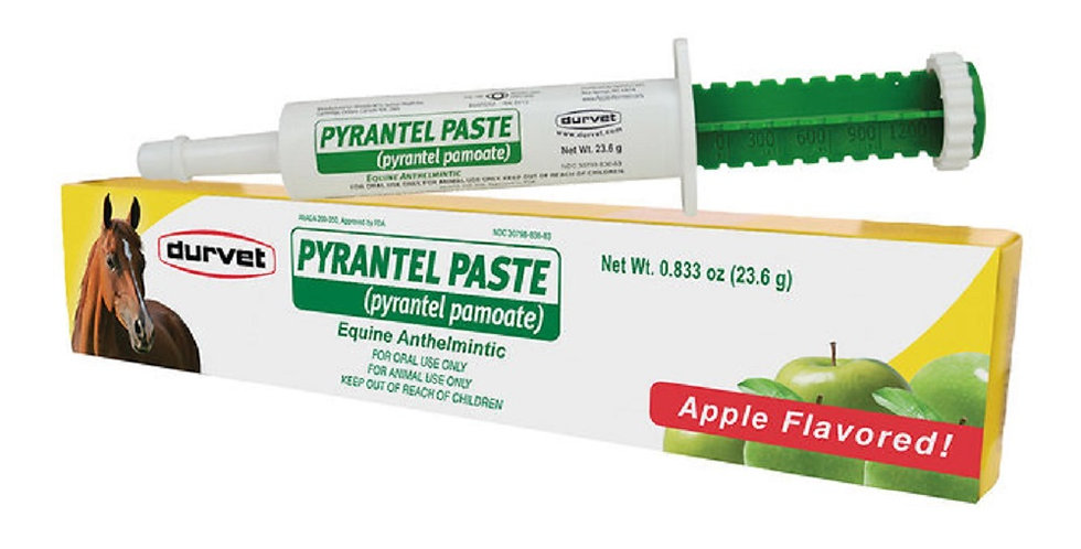 Durvet Pyrantel Paste Horse Dewormer 23.6 gm