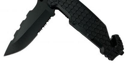Black Tactical Knife