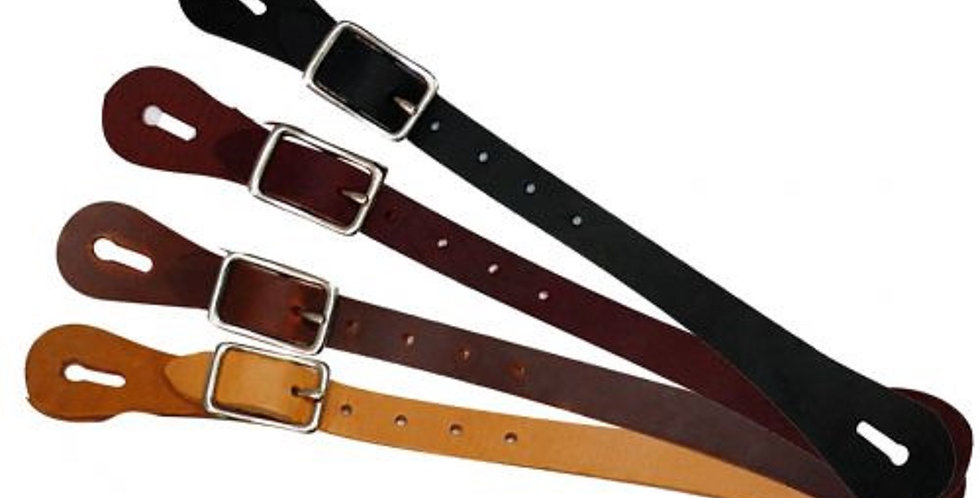 Adult Size Economy Leather Spur Straps - Choose your color!