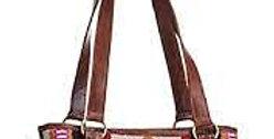 Blanket Tooled Leather Handbag