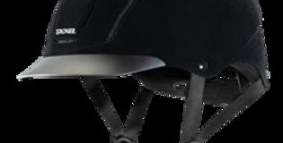 Capriole™, Black Velveteen English Riding Helmet  04-342