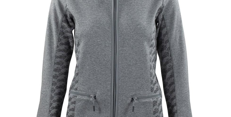 Horze Women's Janessa Fleece Jacket - Melange Gray  33497