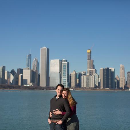 Amy & Matt Chicago Engagement Photographer