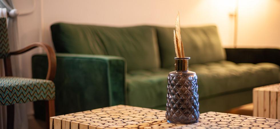 Salon et décoration rafinée