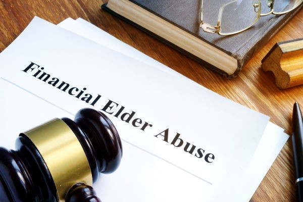 Seniors at Risk for Financial Abuse