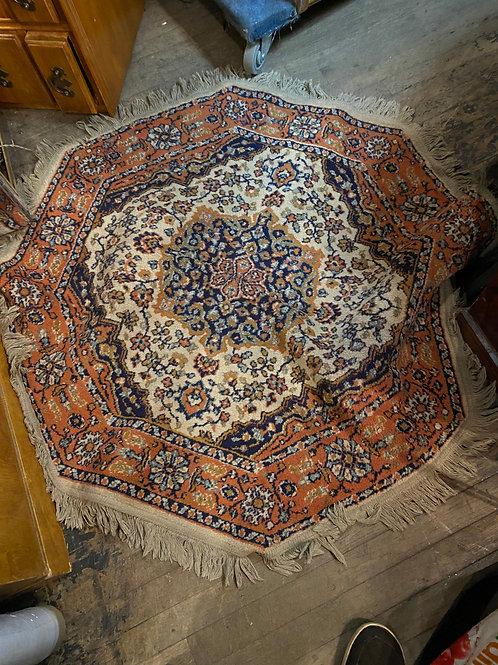 Hexagon scatter rug