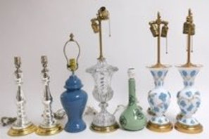 7 Assorted Lamps