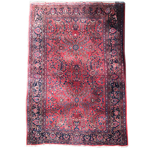 "Lilian Persian rug. [135"" x 99""]."