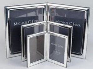 Assorted Silver Picture Frames