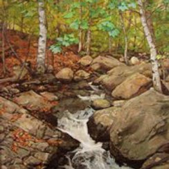 Cold Spring' Oil on canvas