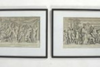Two Plates from Bartoli's Admiranda Romanarum Antiquitatum