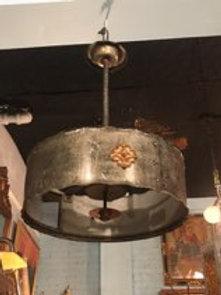 Polished Steel and Bronze Fixutures