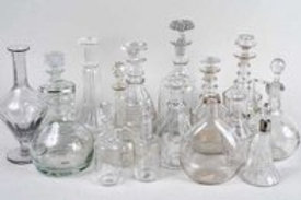 Group of Glass Decanters
