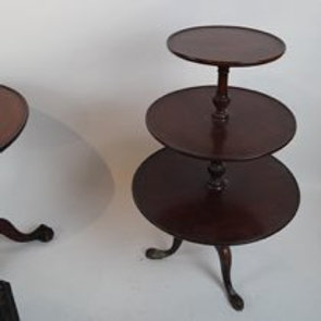 Queen Anne-style table. [