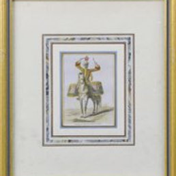 Hand-colored prints on paper, 19th century.