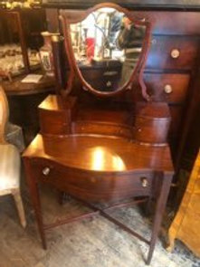 Edwardian mahogany Vanity