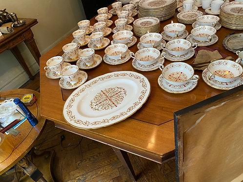 Large Porcelain Dinner Service