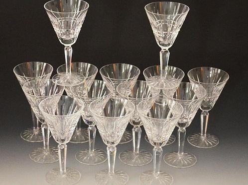 14 Waterford Glenmore  Wine Glasses