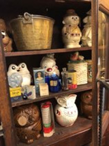 Collection of cookie jars
