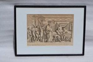 Antique Neo Classical Print