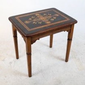 Inlaid Victorian table