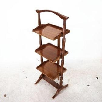antique folding 33 tier book rack By Black Starr Gotham