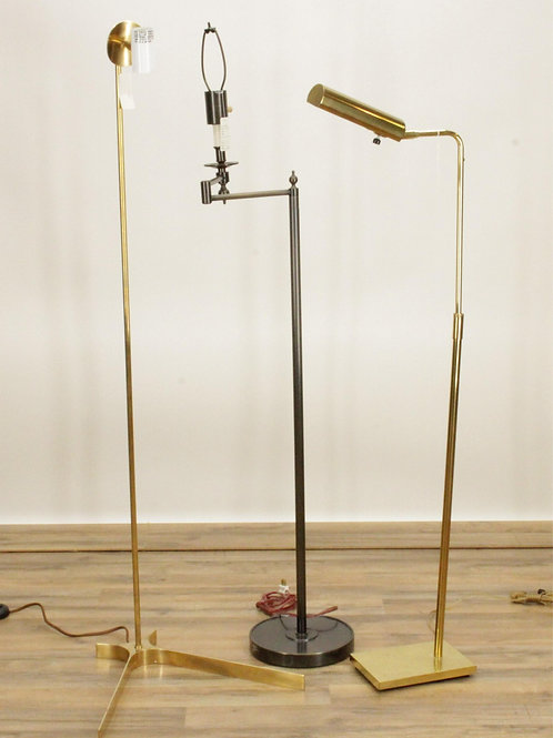 3  1960's standing Lamps