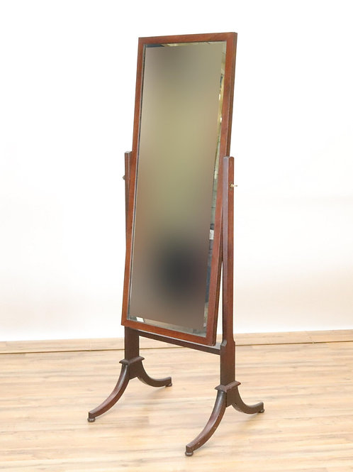 Antique Victorian Cheval Mirror