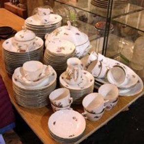 B &G Porcelain set Small Saxon