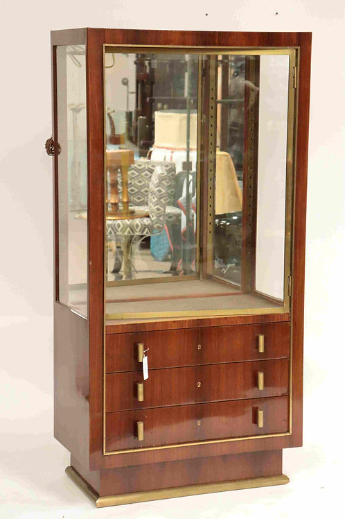 French Modernist display cabinet