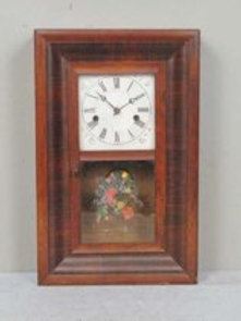 Antique American Ogee Wall Clock Ansonia