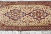 Double medallion Persian runner/rug