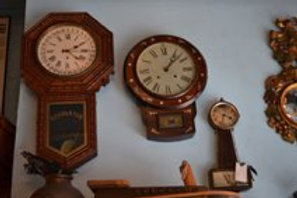 Collection of Antique Wall Clocks