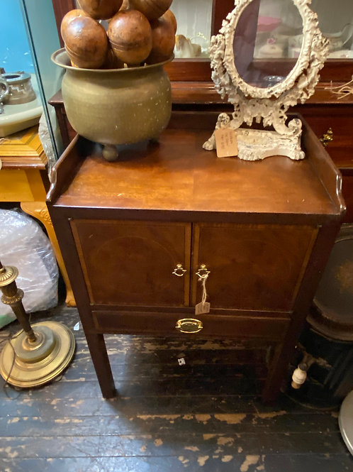 Pair of Baker bedside commodes