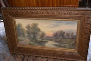 19th cent American Water color