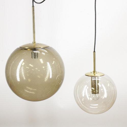 1970's glass lighting