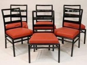 Set of 6 T. H. Robsjohn Gibbings Dining Chairs