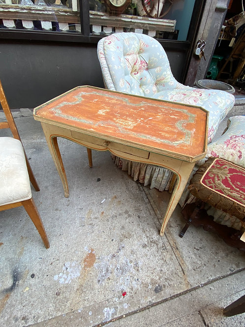 Antique French 19th cent. table in paint
