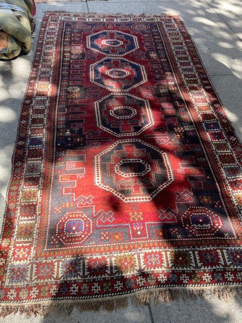 Antique caucasian gallery rug