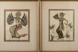 Pair of Indian Style Pictures