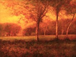 Chestnut Field' Oil on canvas