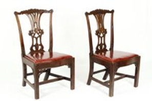 One George III Mahogany Side Chair