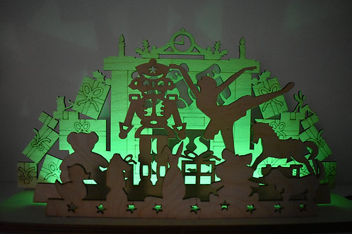 Nutcracker suite LED Christmas display