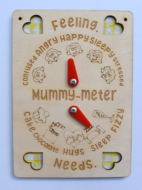 Mummy feeling meter