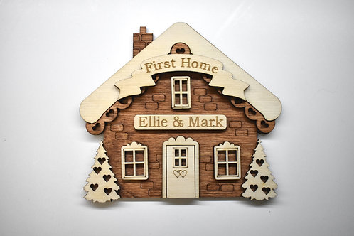 New Home personalised gift