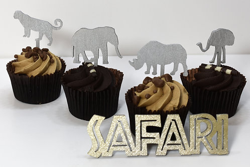 Safari cupcake toppers