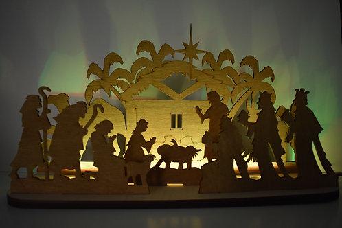 Nativity LED Christmas display