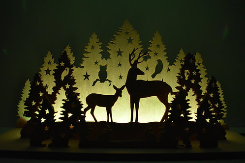 Christmas Forest LED  display