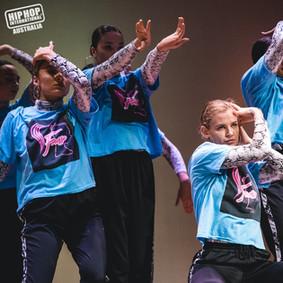 HHI Hip Hop Dance girls ladies sole fam