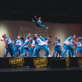 HHI Hip Hop Dance throw brisbane crew gy